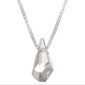 Alex and ani sterling  Swarovski crystal necklace